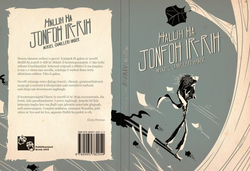 Ħallih Ħa Jonfoħ ir-Riħ (2013) - My first published collection of short stories for adults.