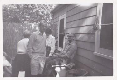 Ron & Sid at Big Tony's Annual Gathering. 1958 (Original)